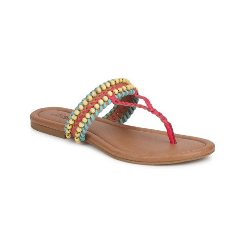 Lucky Brand DOLLIS Dark / Camel / Capri / Blau  Schuhe Sandalen / Sandaletten Damen 71,99