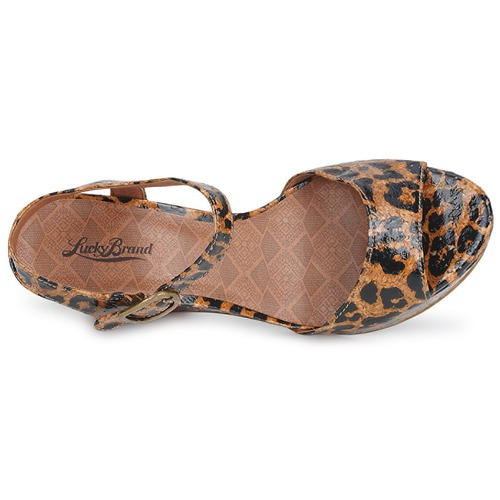 Lucky Sandalen Brand LINDEY Leopard  Schuhe Sandalen Lucky / Sandaletten Damen 81,60 f4b8bf