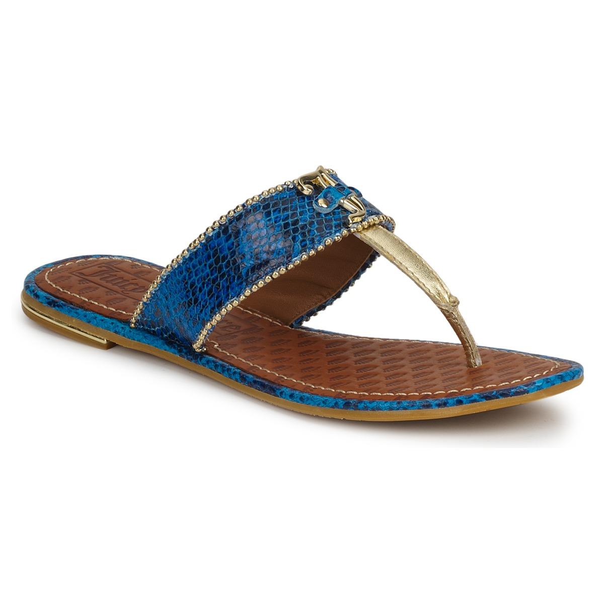 Juicy Couture ADELINE Hell / Blau - Kostenloser Versand bei Spartoode ! - Schuhe Sandalen / Sandaletten Damen 136,00 €