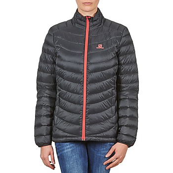 Kleidung Damen Daunenjacken Salomon Jacket HALO DOWN JACKET W BLACK Schwarz