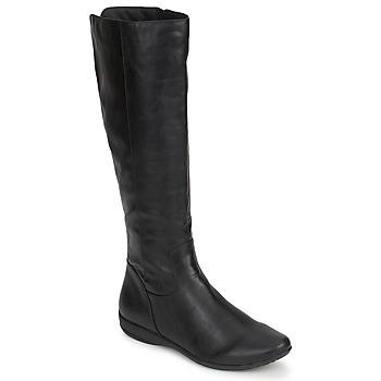 Schuhe Damen Klassische Stiefel Moony Mood GURLEN Schwarz