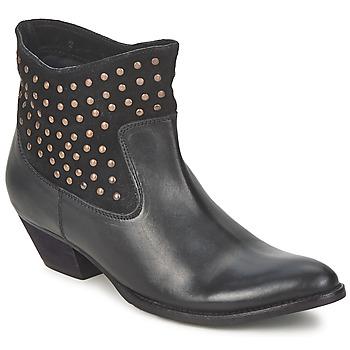 Schuhe Damen Low Boots Friis & Company DUBAI FLIC Schwarz