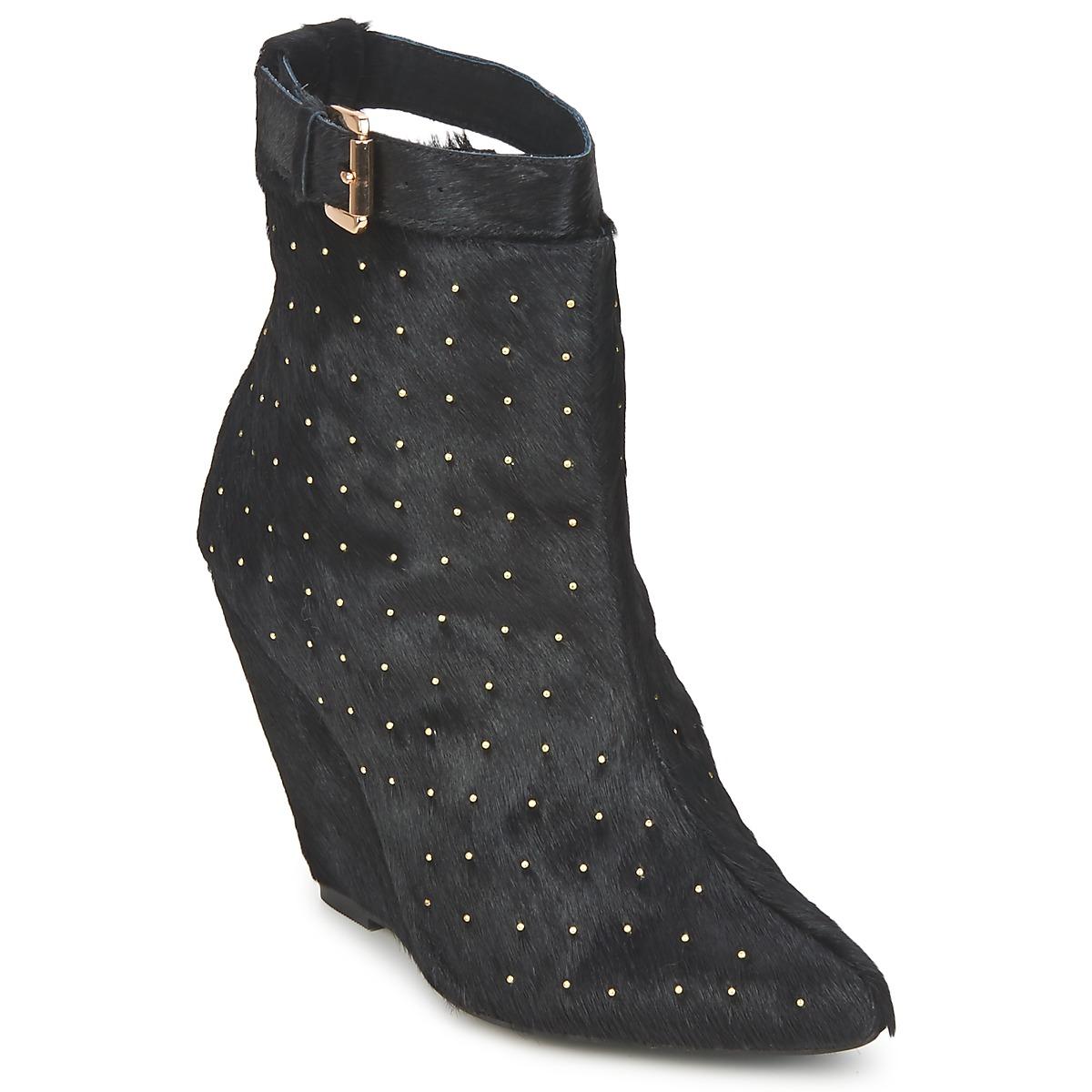 Friis & Company KANPUR Schwarz - Kostenloser Versand bei Spartoode ! - Schuhe Low Boots Damen 78,50 €