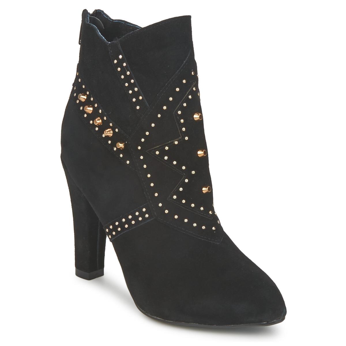 Friis & Company MIXA ERIN Schwarz - Kostenloser Versand bei Spartoode ! - Schuhe Low Boots Damen 54,50 €