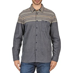 Kleidung Herren Langärmelige Hemden Element LENOX Grau