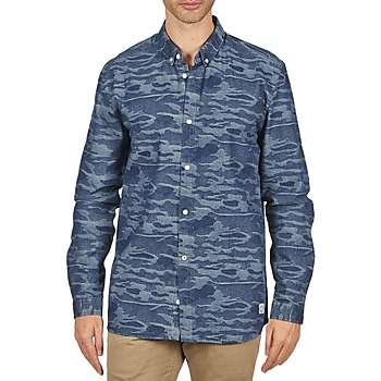Kleidung Herren Langärmelige Hemden Suit ROD Blau