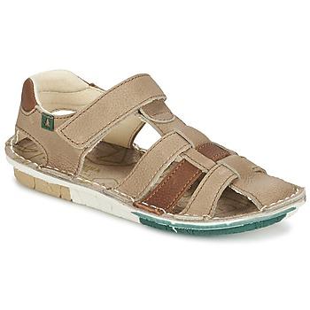 Schuhe Jungen Sandalen / Sandaletten El Naturalista KIRI Beige