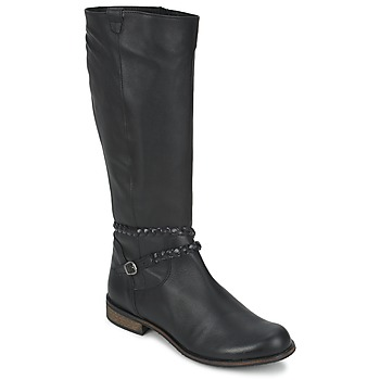 Schuhe Damen Klassische Stiefel So Size BERTOU Schwarz