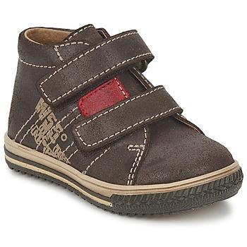 Schuhe Jungen Sneaker High Citrouille et Compagnie ESCLO Braun / Rot