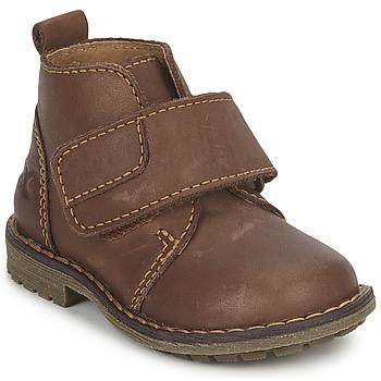 Schuhe Jungen Boots Citrouille et Compagnie MELDUNE Braun