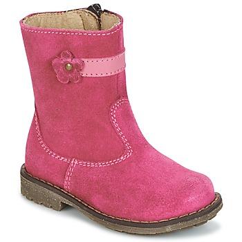 Schuhe Mädchen Boots Citrouille et Compagnie PISTY Fuchsienrot
