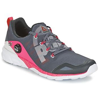 Schuhe Damen Laufschuhe Reebok Sport REEBOK ZPUMP FUSION Grau / Rose