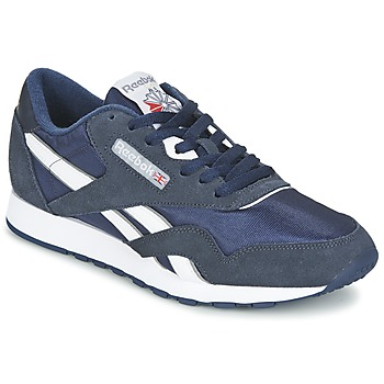 Schuhe Sneaker Low Reebok Classic CLASSIC NYLON Blau