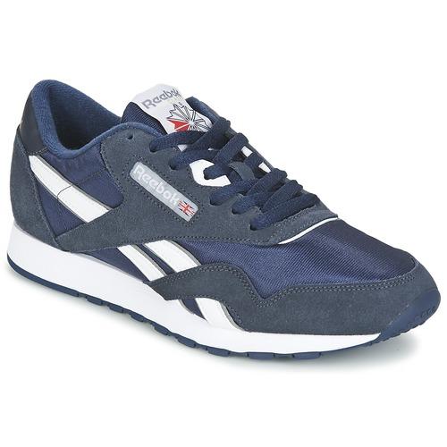 Reebok Classic CLASSIC NYLON Blau  Schuhe Sneaker Low Herren 69,95