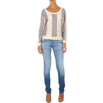 Kleidung Damen Slim Fit Jeans Diesel GRUPEE L.32 TROUSERS Blau