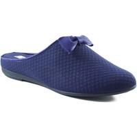 Schuhe Damen Hausschuhe Vulladi Quadrat heimischen Schuh BLAU