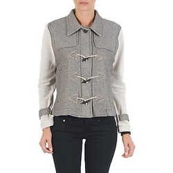Kleidung Damen Jacken Diesel G-JAYA-A SWEAT-SHIRT Grau