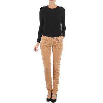 Kleidung Damen Slim Fit Jeans Diesel GRUPEE-F TROUSERS Beige