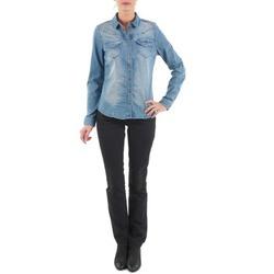 Kleidung Damen Straight Leg Jeans Diesel MYBOY TROUSERS Schwarz