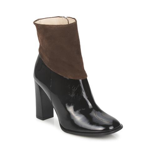 Paco Gil MERLOUNI Schwarz / Braun  Schuhe Low Boots Damen 142