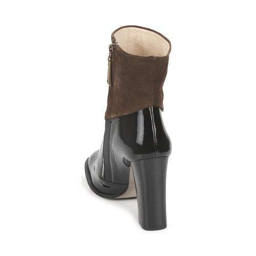 Paco Gil  MERLOUNI Schwarz / Braun  Gil Schuhe Low Boots Damen 142 13a3a9