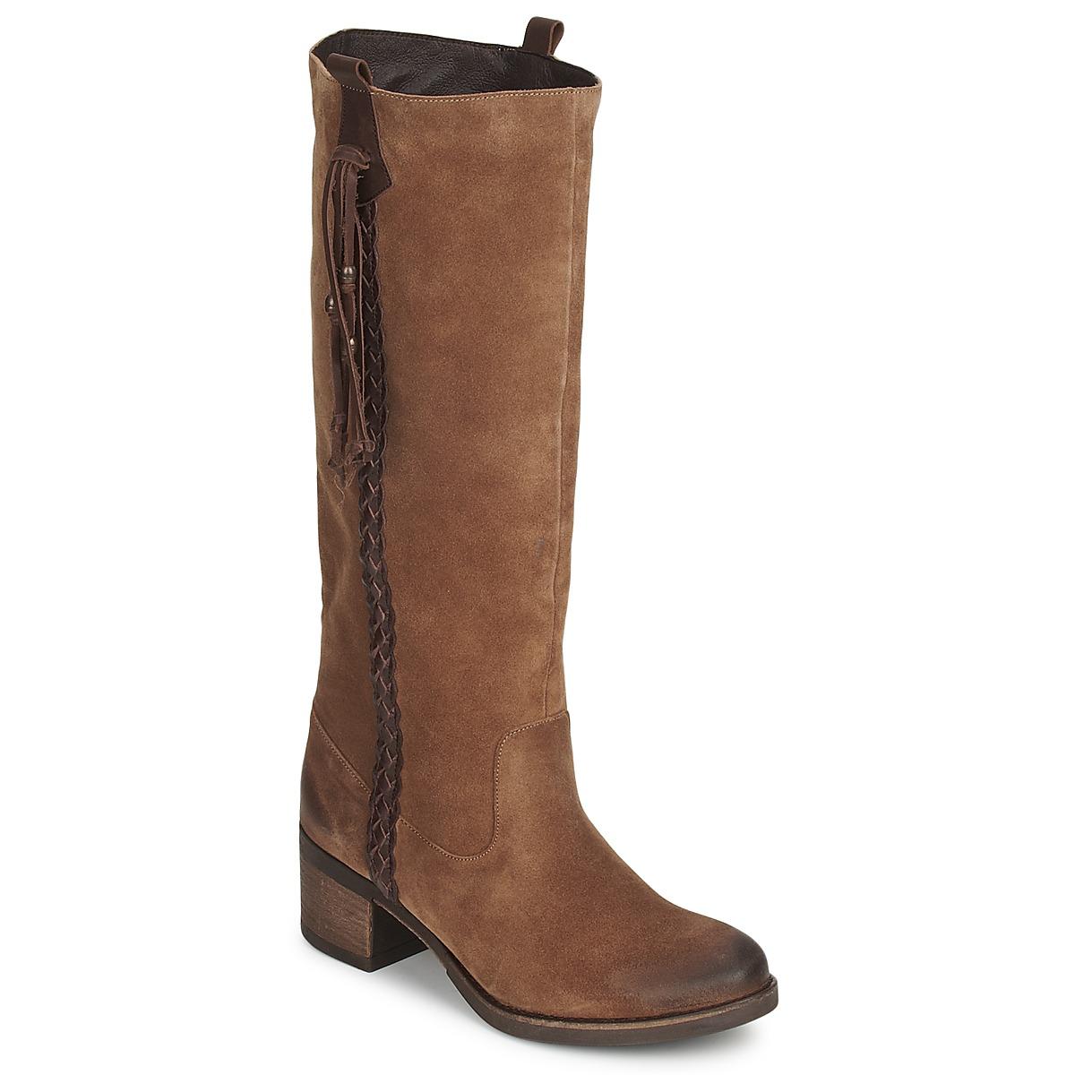 Betty London ELOANE Braun - Kostenloser Versand bei Spartoode ! - Schuhe Klassische Stiefel Damen 87,20 €
