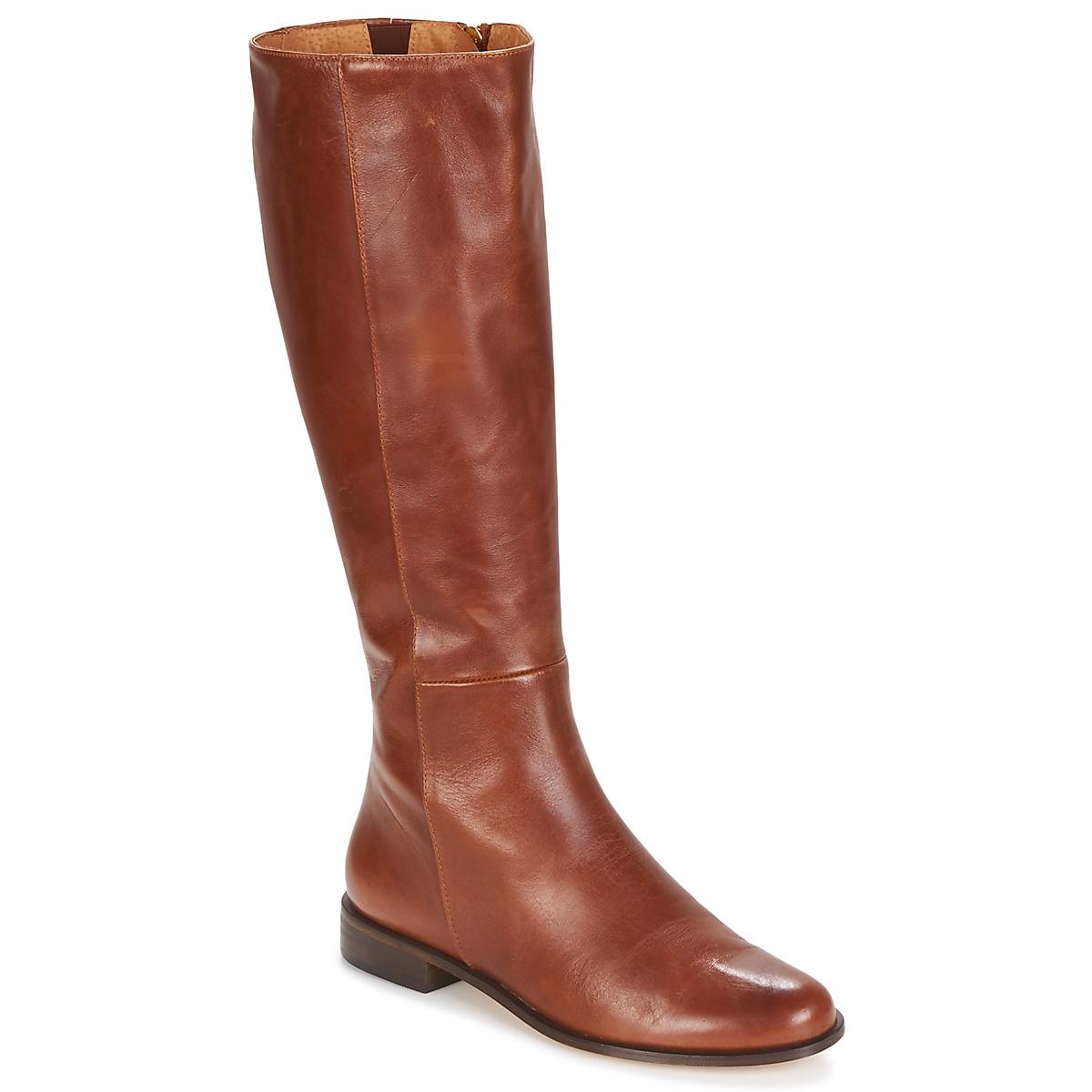 Fericelli LUCILLA Camel - Kostenloser Versand bei Spartoode ! - Schuhe Klassische Stiefel Damen 159,20 €