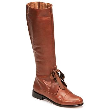 Schuhe Damen Klassische Stiefel Fericelli MAURA Camel