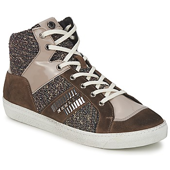 Schuhe Damen Sneaker High Janet Sport ERICMARTIN Maulwurf