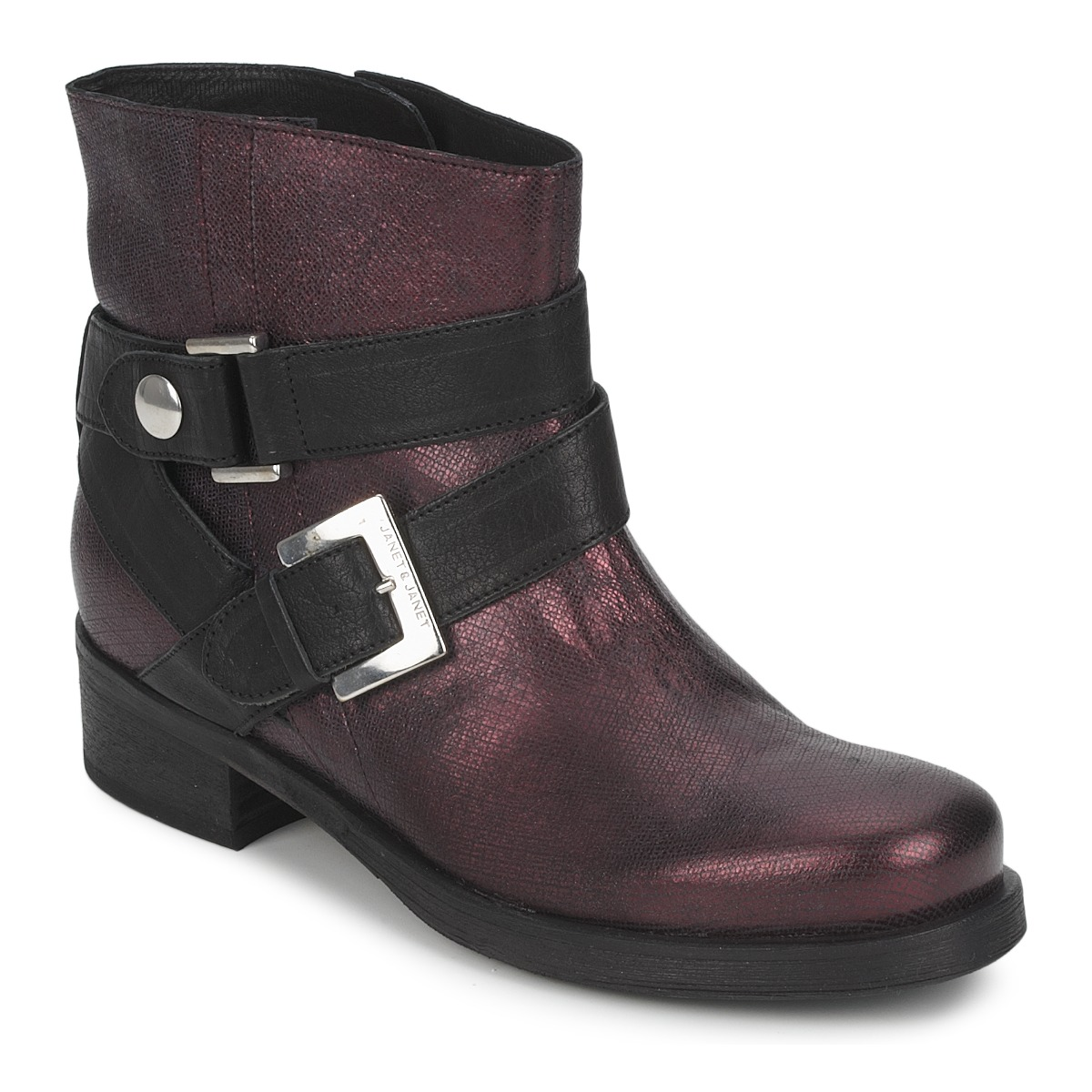 Janet&Janet URSUS VAN Bordeaux - Kostenloser Versand bei Spartoode ! - Schuhe Boots Damen 117,50 €