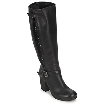 Schuhe Damen Klassische Stiefel JFK SEMATA Schwarz