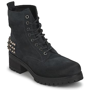 Schuhe Damen Low Boots JFK SIMAIT Schwarz