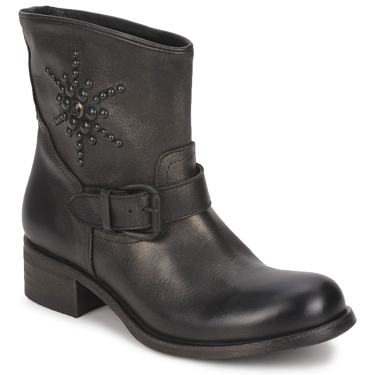 JFK OSSIR Schwarz - Kostenloser Versand bei Spartoode ! - Schuhe Boots Damen 139,50 €