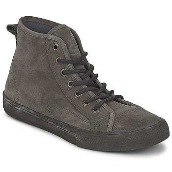 Schuhe Damen Sneaker High Ed Hardy OIL SPILL 200 Grau