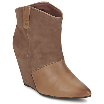 Schuhe Damen Low Boots Koah LIBERTY Maulwurf