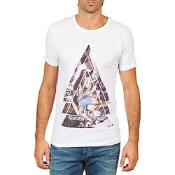 Kleidung Herren T-Shirts Eleven Paris BERLIN M MEN Weiss