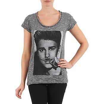 Kleidung Damen T-Shirts Eleven Paris BIEBER W WOMEN Schwarz