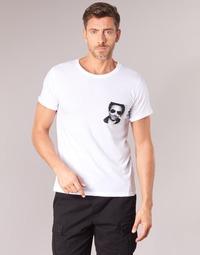Kleidung Herren T-Shirts Eleven Paris LENNYPOCK MEN Weiss