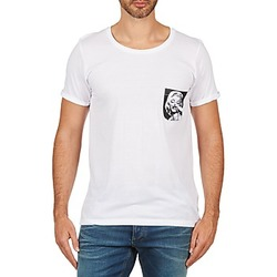 Kleidung Herren T-Shirts Eleven Paris MARYLINPOCK MEN Weiss