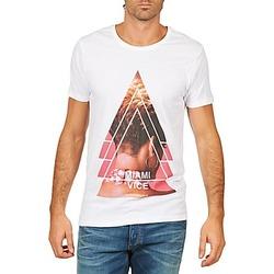 Kleidung Herren T-Shirts Eleven Paris MIAMI M MEN Weiss
