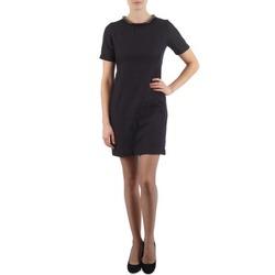 Kleidung Damen Kurze Kleider Eleven Paris TOWN WOMEN Schwarz