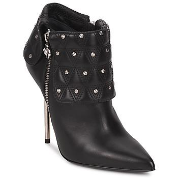 Schuhe Damen Low Boots Versace DSL894P Schwarz