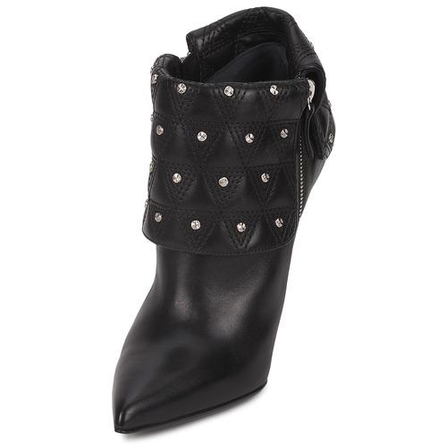 Versace DSL894P Schwarz    Schuhe Low Stiefel Damen faede9