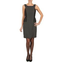 Kleidung Damen Kurze Kleider Manoukian PEPLUM Schwarz