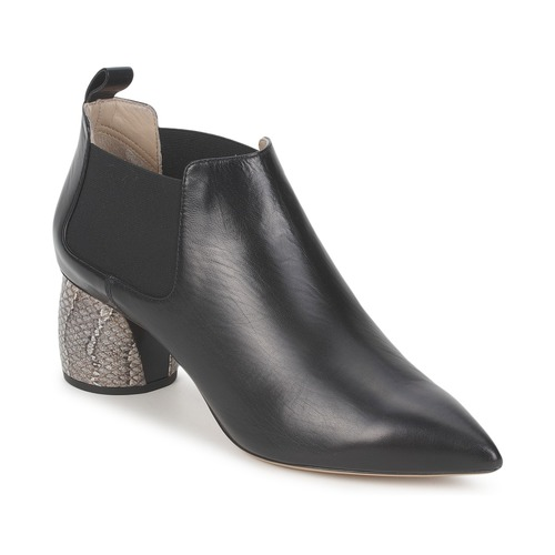 Marc Jacobs EQUATORE Schwarz Schuhe Ankle Boots Damen 245