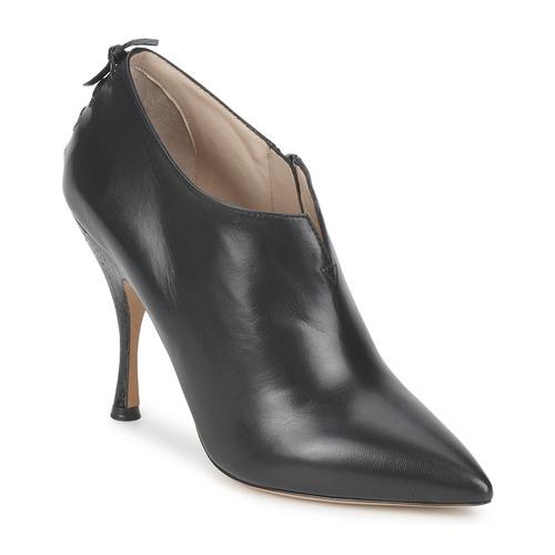 Marc Jacobs MALVA 10X57 Schwarz  Schuhe Ankle Stiefel Damen