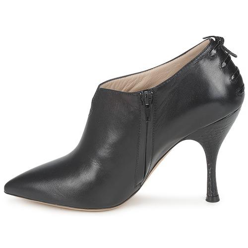 Marc Jacobs MALVA 10X57 Schwarz Schuhe Ankle Boots Damen 230