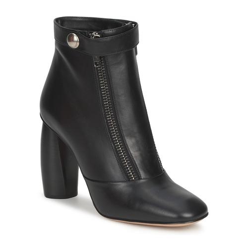Marc Jacobs NORVEGIA Schwarz Schuhe Low Boots Damen 278