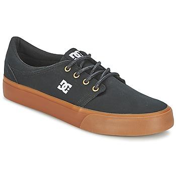 Schuhe Herren Sneaker Low DC Shoes TRASE TX Schwarz / Goldfarben