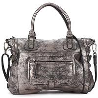 Taschen Damen Handtasche Sabrina CAMILLE Silbern
